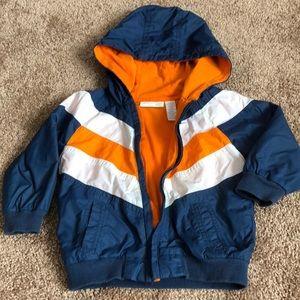 Windbreaker boy coat